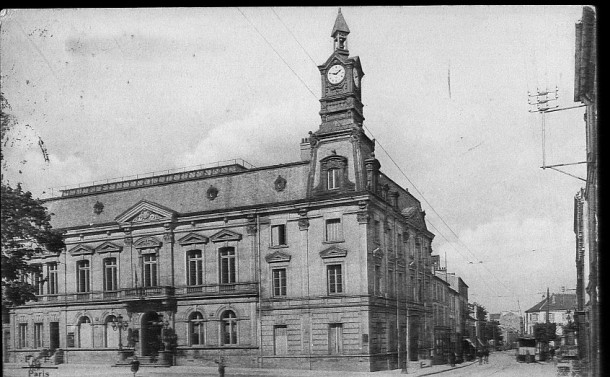 La mairie lieu institutionnel noisy le sec histoire - Piscine de noisy le sec ...