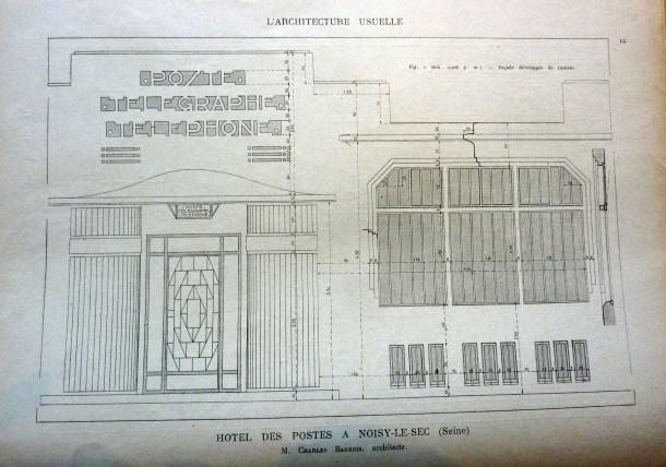 Charles barrois 1863 1929 architecte communal noisy le sec histoire - Bains douches municipaux ...
