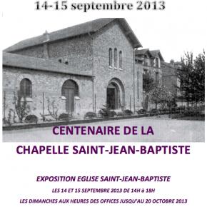 14-15 septembre 2013, Journées Européennes du Patrimoine