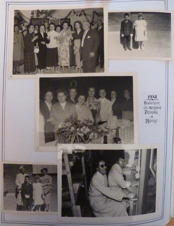 1958 ouverture du magasin prisunic de noisy le sec noisy le sec histoire. Black Bedroom Furniture Sets. Home Design Ideas