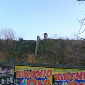 Le mystère de la statue de la Nationale 3