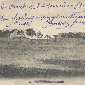 Sur le front, le 27 novembre 1915