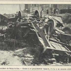 5 septembre 1909, l'accident de Noisy-le-Sec