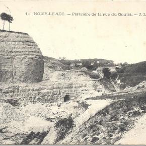 Relief, géologie et hydrologie à Noisy-le-Sec