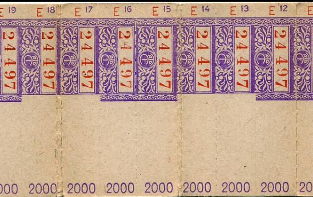 carnet de tickets bus STCRP