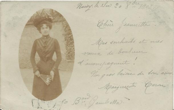 1902 correspondance