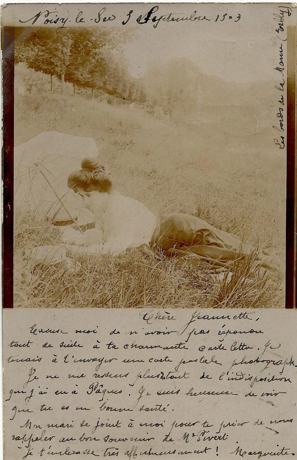 1903 sept correspondance