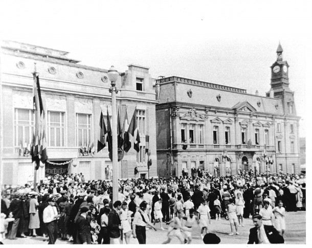Rassemblement mairie Noisy 1935