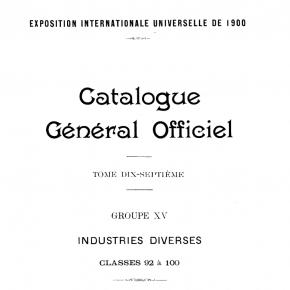 catalogue officiel