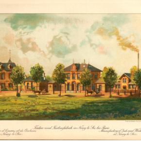 1881, usine A.W Faber de Noisy-le-Sec