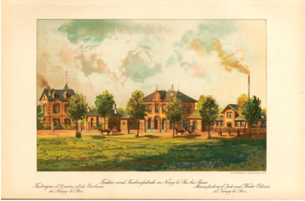 L'usine en 1895
