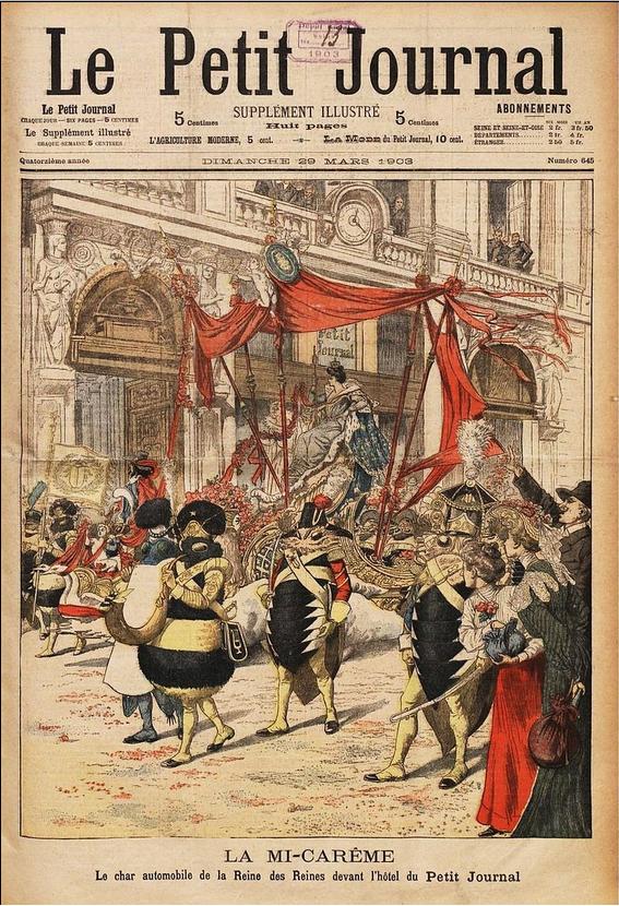 1903, Mi-carême au Carnaval de Paris