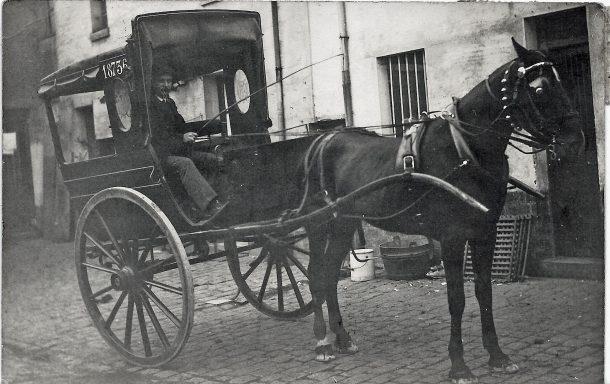 Taxi noiséen en 1912