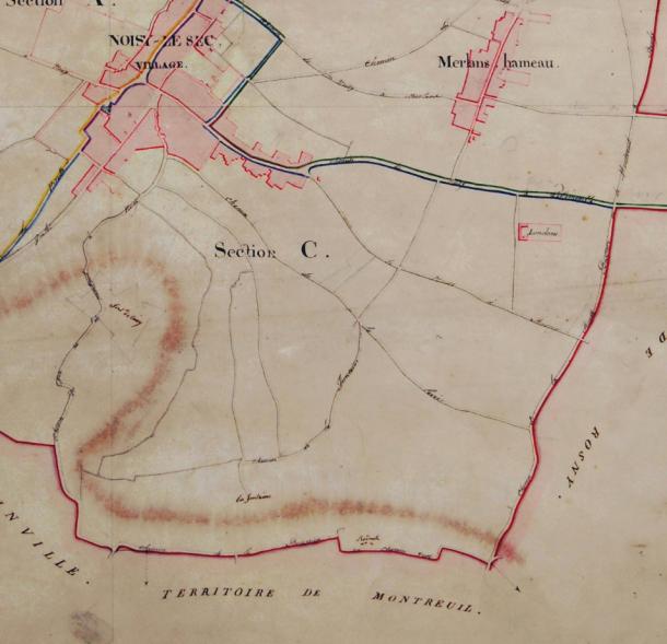 1810 cadastre