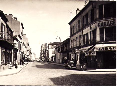 """Depuis 1933, Eugène Fosse, """"Tabac du Centre"""""""
