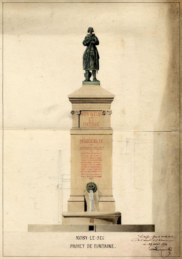 1849 le projet de Paul Eugène Lequeux, architecte