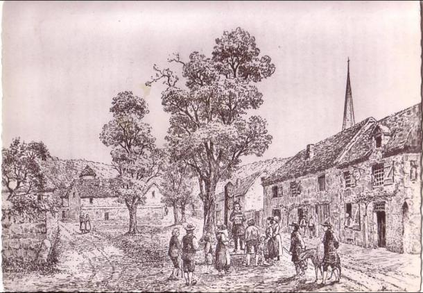 Illustration d'Hector Espaullard pour la Place du Carquant