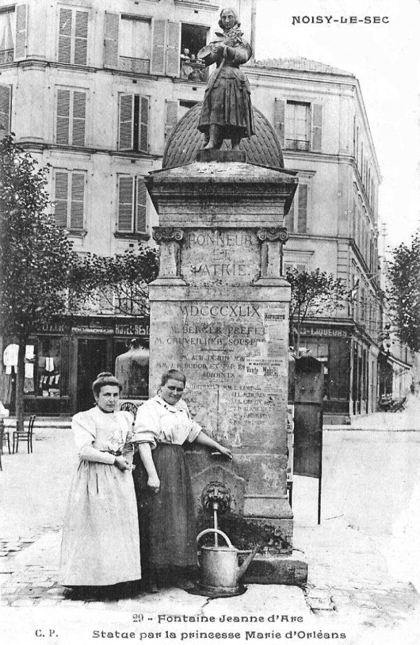 fontaine J d'Arc:princesse