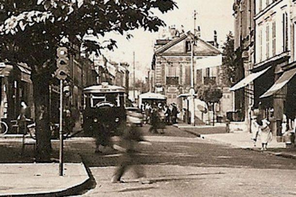 1958, bus place Jeanne d'Arc