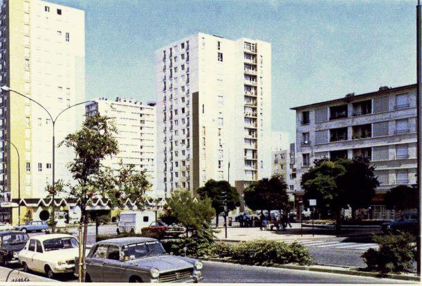 place J d'Arc 1970 couleur