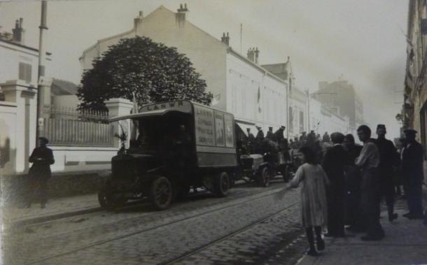 1914 convoi anglais