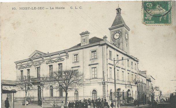 1889 - agrandissement de la mairie, Charles Trouet architecte