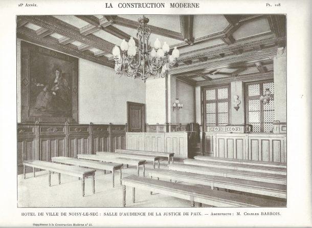1906- salle de la justice de paix