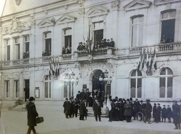 17 février 1907 - inauguration de la mairie