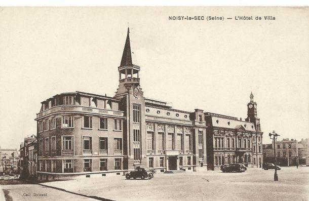 17 juin 1934 - inauguration de la mairie annexe André Chevalier architecte