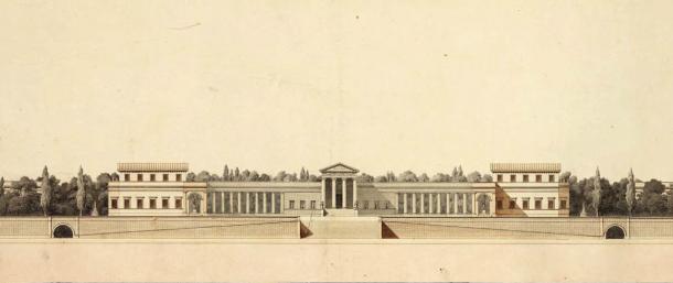 Le prix de Rome en 1805