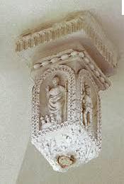 clé de voute église Saint-Etienne