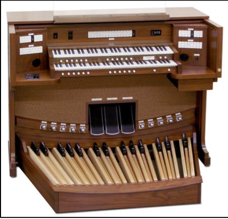 le nouvel orgue numérique de marque Allen