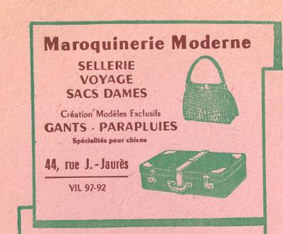 n°44 maroquinerie
