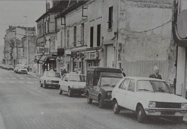 la rue en 1988