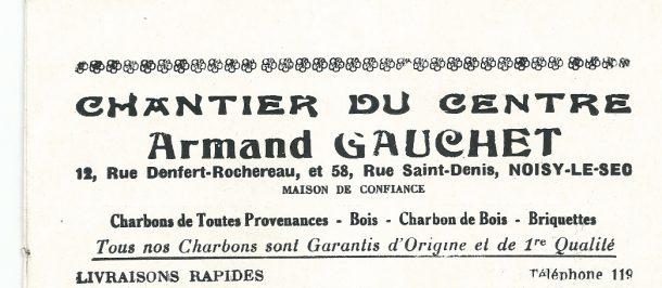 12 Denfert Rochereau Charbon 1931