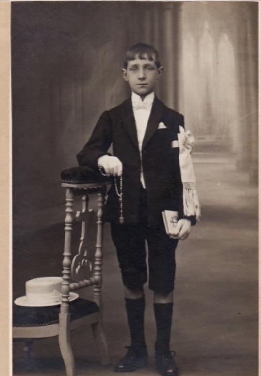 1924 en communiant