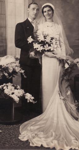 10 novembre 1937 mariage avec Jeanne Marcelier