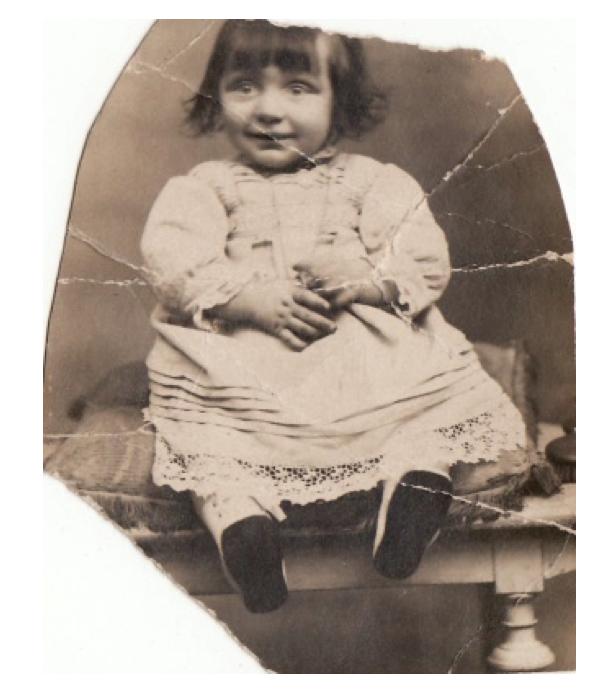 Albert Bergé 1913 a un an