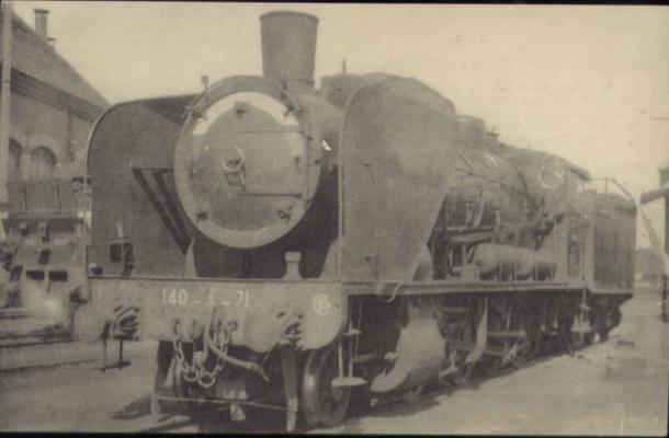 locomotive de la Compagnie de l'Est, n°140-A-071