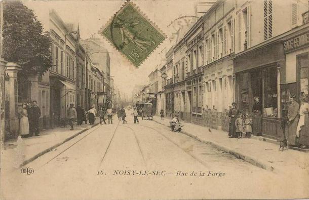 rue de la forge Coupé