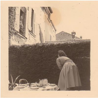 Pierre à la fenêtre du n°34 rue Carnot