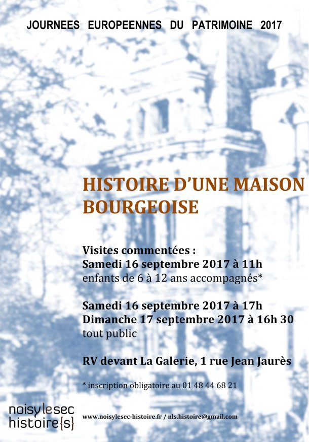 JOURNEES EUROPENNES DU PATRIMOINE 2017