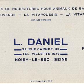 La graineterie Daniel, rue Carnot