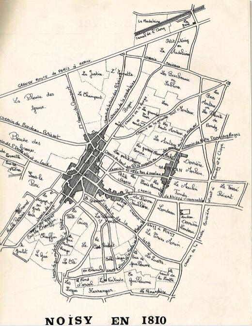 Noisy en 1810