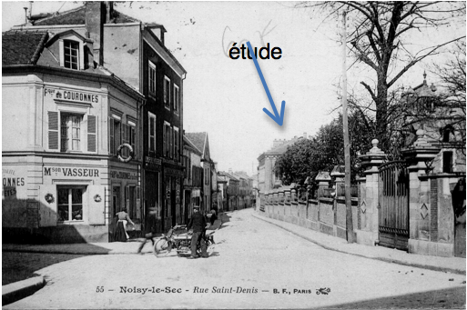 6 rue Saint Denis l'étude des notaires attestée depuis Me Louis Pierre Genet (1846-1858)