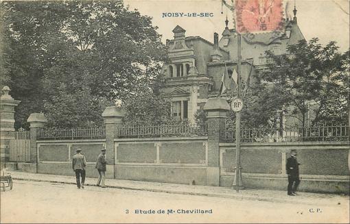 1bis rue de la Forge, la maison du notaire Me Chevillard