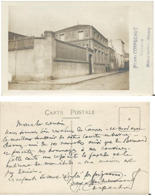 10 rue Carnot Me Corpechot 1904-1943