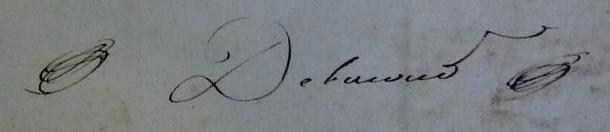 Ruche de Maître Jean Philippe Delacour (1826-1832)