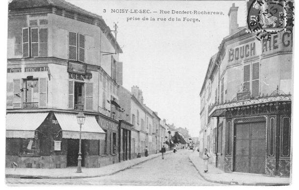 angle Denfert Rochereau rue de la forge