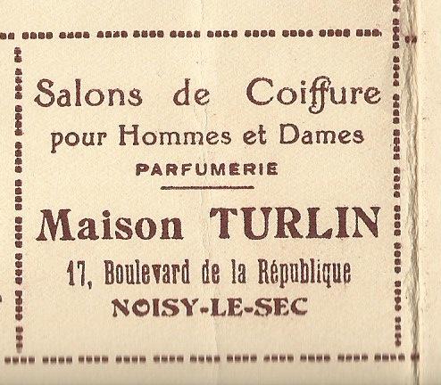 1930 Turlin coiffeur